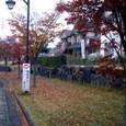 桂ヶ丘の芝生舗装の歩道