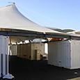 11 女川町仮設住宅のテント