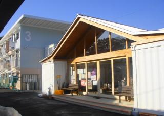 09 女川町仮設住宅の集会所