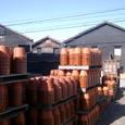 植木鉢と工場