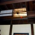 01 町屋館内のむくり天井